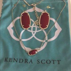 Red Kendra Set